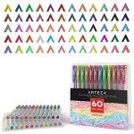 Arteza stylos à encre gel 60-individual-colors sans acide et non toxiques (0.8–Conseils de 1,0mm, lot de 60) de la marque ARTEZA® image 1 produit