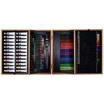Artina A126 Coffret de peinture en bois MDF 127 pieces Bologna - Pastels à l'huile, Crayons à papier et de couleurs, Aquarelle, Acrylique… de la marque Artina image 2 produit