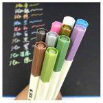 Audel Stylos marqueurs métalliques - jeu de 10 stylos de différentes couleurs métalliques assorties sur papier, verre, bois, poterie, céramique, fabrication de cartes et album photo bricolé, marqueurs de la marque Audel image 3 produit