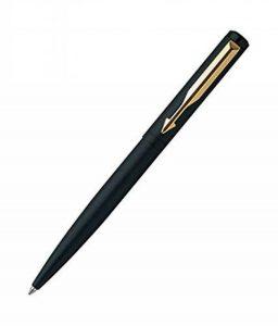 Authentique Parker Vector Stylo à bille Noir mat/GT-bille stylo Quink Recharge de débit de la marque Parker image 0 produit