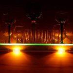 B.K. Licht Éclairage LED pour plancher en verre Lot de 4 pinces LED Éclairage de vitrine Éclairage pour mobilier Télécommande de contrôle de couleurs incluse de la marque B.K.Licht image 4 produit