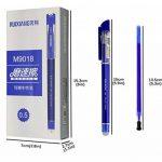 Bblike 12pcs Pilot Frixion Stylo à bille effaçable et 20Ballpen Recharges, Plus d'encre friction stylos encre gel Stylo bille Pointe 0,5mm (Bleu) de la marque BBLIKE image 6 produit