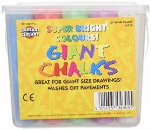 Be Creative Farbige Kreide für Kinder–20Grand, Sortierte Farben de la marque Be Creative image 0 produit