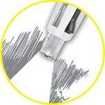 BIC 10163 Stylo-bille 4 Colours 4 en 1 pointe moyenne 1,0 mm rétractable rechargeable grip encre 3 Couleurs Porte-mines HB de la marque BIC image 5 produit