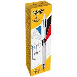 BIC 4multifonction Couleur Noir/bleu/rouge/crayon PK12 de la marque BIC image 0 produit