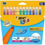 Bic 828966 Kids Kid Couleur XL Feutres de Coloriage - Etui Carton de 12 de la marque Bic Kids image 0 produit