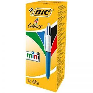 Bic 895958 4 Couleurs Mini Stylos-Bille - Boîte de 12 de la marque BIC image 0 produit