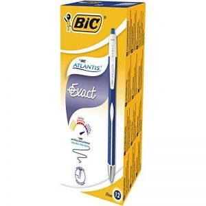 Bic 918505 Atlantis Exact Stylos-Bille - Bleu, Boîte de 12 de la marque BIC image 0 produit