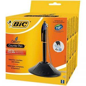 Bic 918515 4 Couleurs Counter Pen Stylo-Bille - Boîte de 1 de la marque BIC image 0 produit