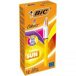 BIC 9498974couleurs Soleil Stylo à bille (lot de 12) de la marque BIC image 0 produit
