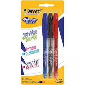 BIC 961482 Gelo-city Illusion Lot de 3 Rollers pointe moyenne Couleurs Assorties de la marque BIC image 0 produit