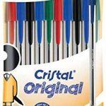 Bic - BIC Stylo a bille Cristal Medium, bleu, en sachet de 10 de la marque BIC image 2 produit
