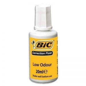 Bic Correcteur fluide avec pinceau Flacon de 20 ml Blanc Lot de 10 de la marque BIC image 0 produit