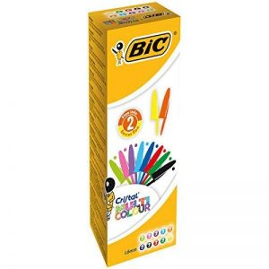 Bic Cristal Multicolor 926381 Stylo-bille non rétractable Couleurs classiqu de la marque BIC image 0 produit