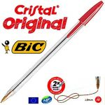 BIC cristal original, Foret de 1mm, lot de 10stylos couleur rouge de la marque BIC image 1 produit
