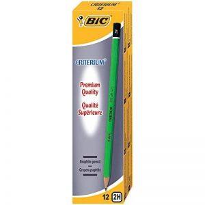 BIC Criterium 550 Crayons à Papier - 2H, Boîte de 12 de la marque BIC image 0 produit