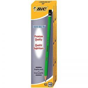 BIC Criterium 550 Crayons à Papier - 4B, Boîte de 12 de la marque BIC image 0 produit