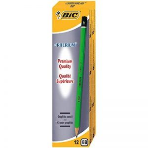 BIC Criterium 550 Crayons à Papier - 6B, Boîte de 12 de la marque BIC image 0 produit