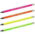 BIC Evolution Fluo Crayons à Papier avec Gomme - HB, Blister de 12 de la marque BIC image 4 produit