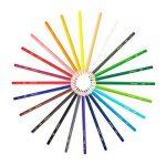 BIC Kids Aquacouleur Crayons de Couleur - Etui Carton de 24 de la marque Bic Kids image 2 produit