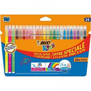 BIC Kids Kid Couleur Feutres de Coloriage - Etui Carton de 20+4 de la marque Bic Kids image 0 produit