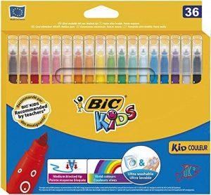 BIC Kids Kid Couleur Feutres de Coloriage - Etui Carton de 36 de la marque Bic Kids image 0 produit