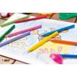 BIC Kids Plastidecor Craies de Coloriage - Etui Carton de 24 de la marque Bic Kids image 3 produit