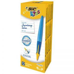 BIC Kids Twist System Stylos-bille d'Apprentissage Ergonomiques - Bleu, Boîte de 12 de la marque Bic Kids image 0 produit
