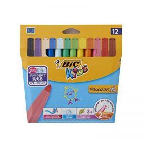 BIC Kids Visacolor XL Feutres de Coloriage - Etui Carton de 12 de la marque Bic Kids image 0 produit