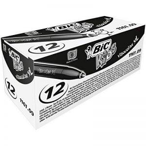 BIC Kids Visacolor XL Feutres de Coloriage - Noir, Boîte de 12 de la marque Bic Kids image 0 produit