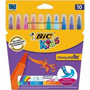 BIC Kids Visaquarelle Feutres de Coloriage - Etui Carton de 10 de la marque Bic Kids image 0 produit