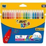 BIC Kit Rentrée des Classes - Pack de Coloriage de 18 Feutres/18 Crayons de Couleur/8 Crayons Graphite HB de la marque BIC image 1 produit