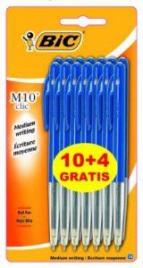 BIC M10 Original Stylos-Bille - Bleu, Blister Format Spécial de 14 de la marque BIC image 0 produit