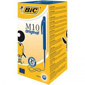 BIC M10 Original Stylos-bille - Bleu, Boîte de 50 de la marque BIC image 0 produit