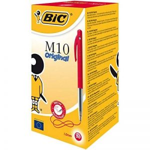 BIC M10 Original Stylos-bille - Rouge, Boîte de 50 de la marque BIC image 0 produit