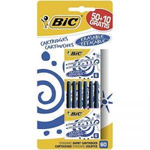 Bic Pack de 60 Cartouches courtes universelles Bleu de la marque BIC image 0 produit