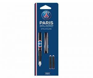 Blister Stylo plume avec 2 cartouches PSG de la marque PARIS SAINT GERMAIN image 0 produit