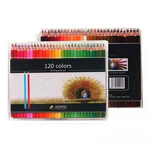 Boby's Wonderland Lot Crayon de Couleurs Enfant 120 Crayons Couleur Bois Kit pour Professionnel Artiste, pour Dessin, Coloriage, Manga de la marque Boby's Wonderland image 0 produit