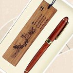 Bois Motif Bambou sculpté écriture en bois Rollerball Pen Artistique de la marque Blancho image 1 produit