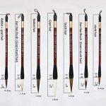 Boîte cadeau de calligraphie chinoise Brosse de 7pièces Kanji Pinceaux de la marque UE STORE image 3 produit