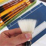 Boîte cadeau de calligraphie chinoise Brosse de 7pièces Kanji Pinceaux de la marque UE STORE image 4 produit