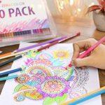 Boîte de 120 crayons de couleur Zenacolor - 120 couleurs uniques (aucune en double) - Les meilleurs crayons pour enfants, adultes et artistes. Idéal pour tous les types de coloriage de la marque Zenacolor image 5 produit