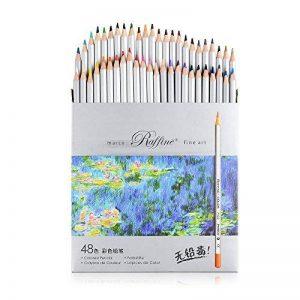 boîte de 48 crayons de couleur TOP 6 image 0 produit
