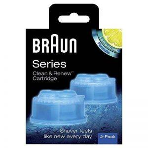 Braun Clean et Renew Cartouches de Recharge CCR - Pack de 2 Recharges de la marque Braun image 0 produit