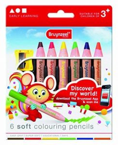 BRUYNZEEL 1405022 - Crayon De Couleur - 6 Pièces de la marque BRUYNZEEL image 0 produit