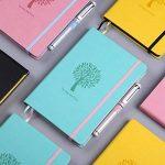 Bullet Journal/Carnet à Pois – Lemome Pages Numérotées avec Porte-stylo Recyclable Papier épais 125g/m² – Premium Gifts Kit – Couverture Rigide, Format A5, Vert Menthe de la marque Lemome image 1 produit