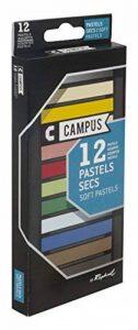 Campus K60B.12 - Boîte de 12 Couleurs Pastels Secs de la marque Campus image 0 produit