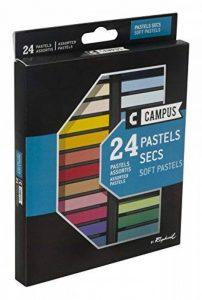 Campus K60B.24 - Boîte de 24 Couleurs Pastels Secs de la marque Campus image 0 produit