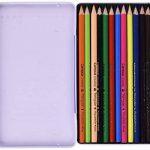 Campus University MKP1120–12TN–Crayons de couleur aquarellables Boîte, Lot de 12 de la marque Campus image 1 produit