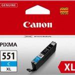 Canon - 6444B001 - Cartouche d'Encre CLI-551 XL C - Cyan de la marque Canon image 1 produit